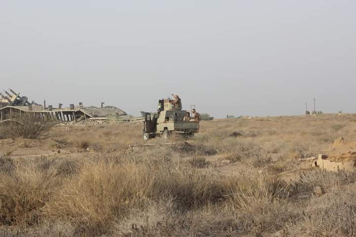 الجيش اليمني في حجة