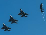 """مقاتلات سعودية تصل اليونان للمشاركة في تمرين """"عين الصقر1"""""""