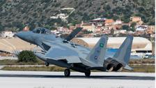 سعودی فضائیہ کا دستہ بحیرہ روم کی مشقوں میں حصہ لینے یونان پہنچ گیا