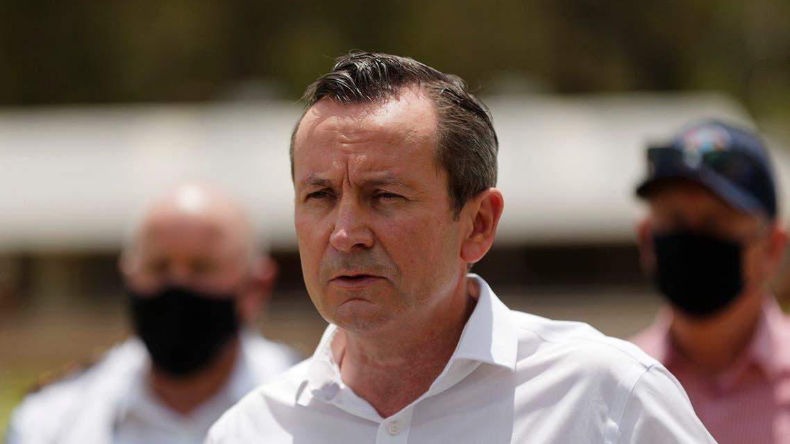 Western Australia state Premier Mark McGowan. (File photo: AFP)