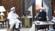 وزیر مذہبی امور نور الحق قادری کی شیخ الأزهر سے ملاقات