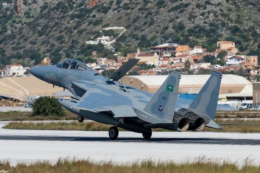 Royal Saudi Air Force arrive in Greece ahead of joint air drills4
