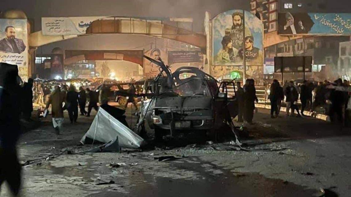 وقوع دو انفجار در غرب کابل