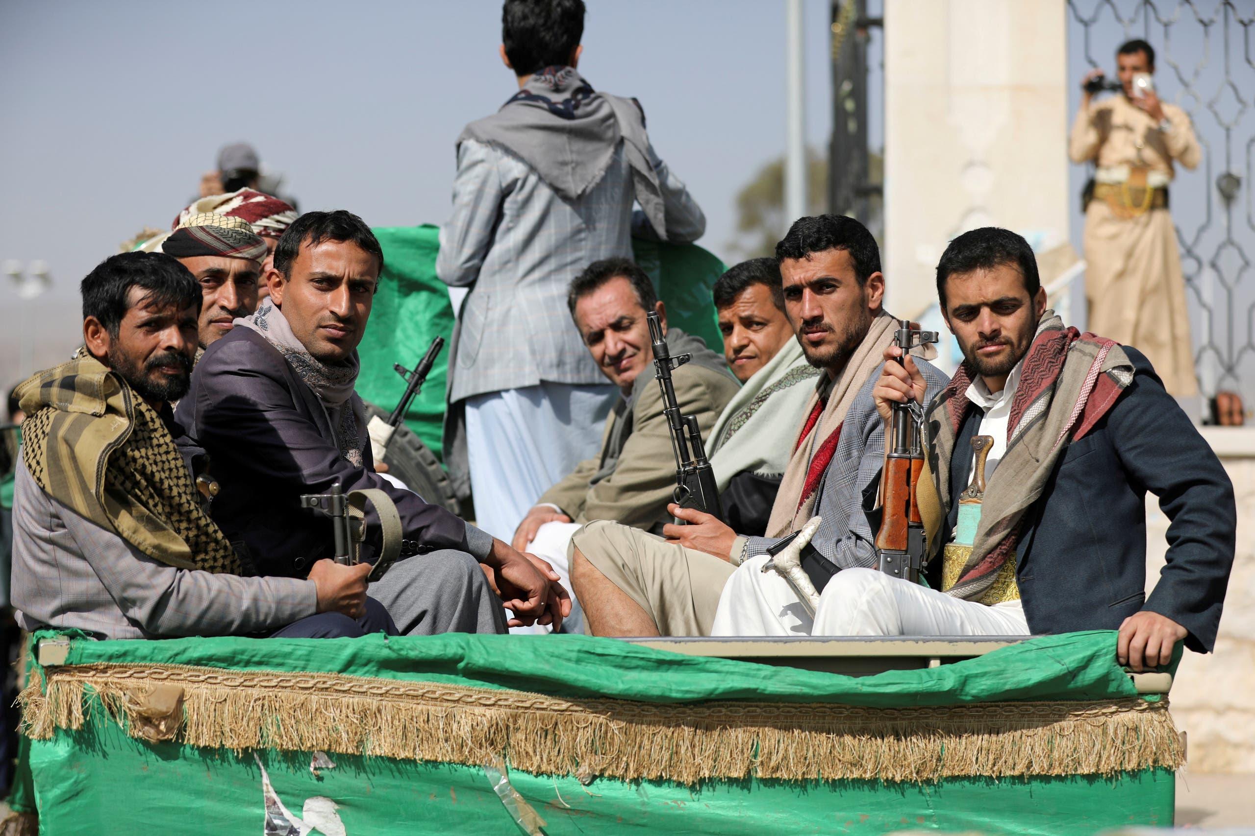 ميليشيات الحوثي في  صنعاء (أرشيفية- رويترز)