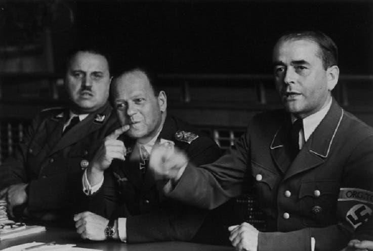 آلبرت شبیر، ارهارد ملچ و والتر شيپر