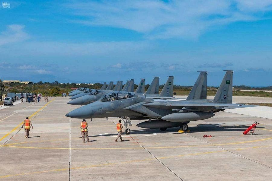 Royal Saudi Air Force arrive in Greece ahead of joint air drills2