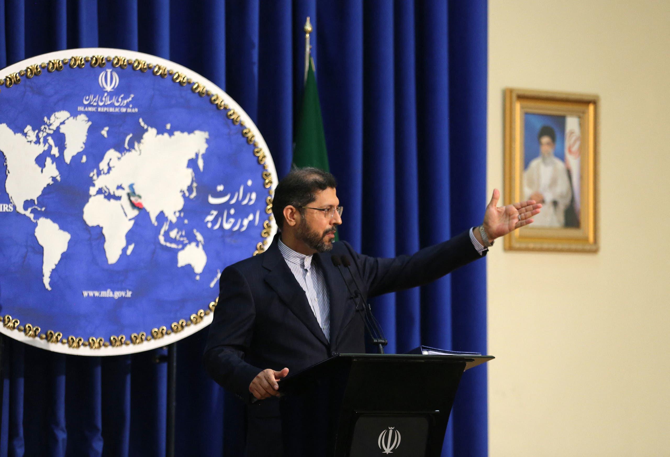 المتحدث باسم الخارجية الإيرانية سعيد خطيب زادة (أرشيفية- فرانس برس)