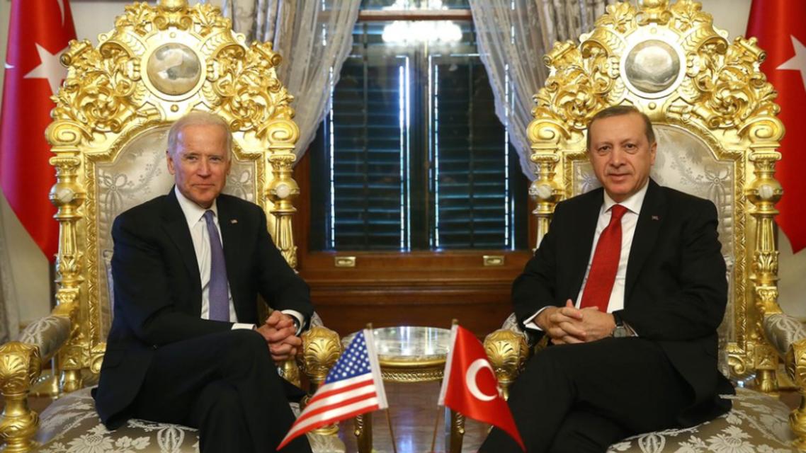 الرئيس الأميركي جو بايدن والتركي رجب طيب أردوغان (أرشيفية- أسوشييبتد برس)
