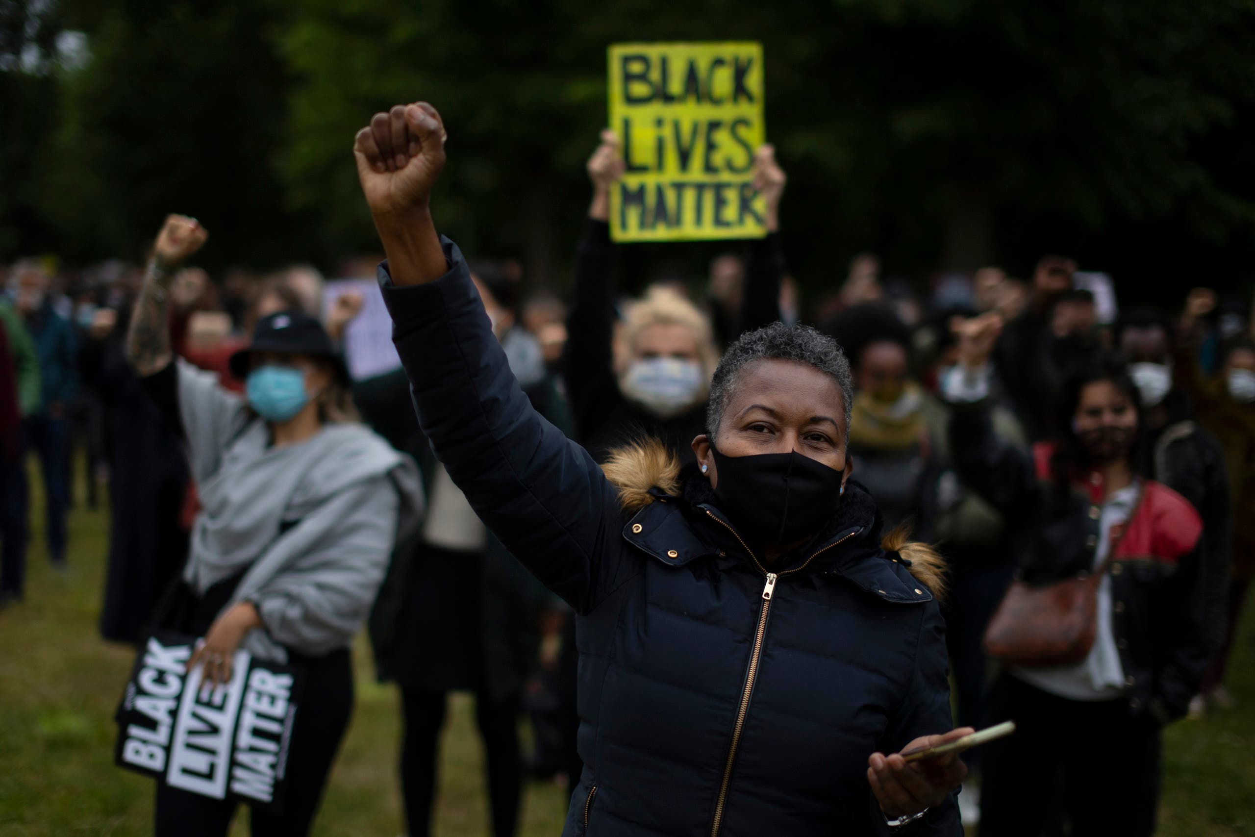 In this file photo dated Wednesday June 10, 2020, some thousands of people demonstrate in support of the Black Lives Matter movement, in a park in Amsterdam. (File photo: AP)