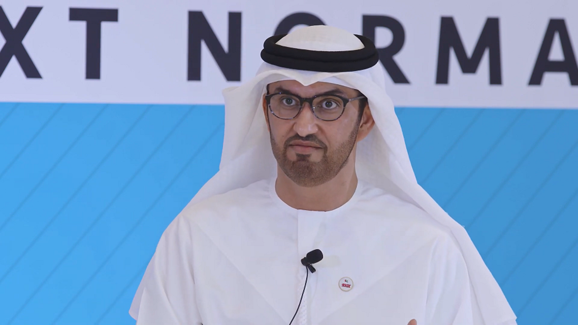 Sultan Ahmed al-Jaber, UAE Minister of Industry and Advanced Technology and ADNOC Group Managing Director and CEO. (WAM)