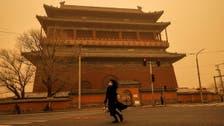 Chinese capital Beijing reels under heavy sandstorms