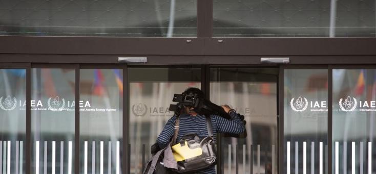 از مقر آژانس بین المللی انرژی اتمی در وین (بایگانی - خبرگزاری فرانسه)