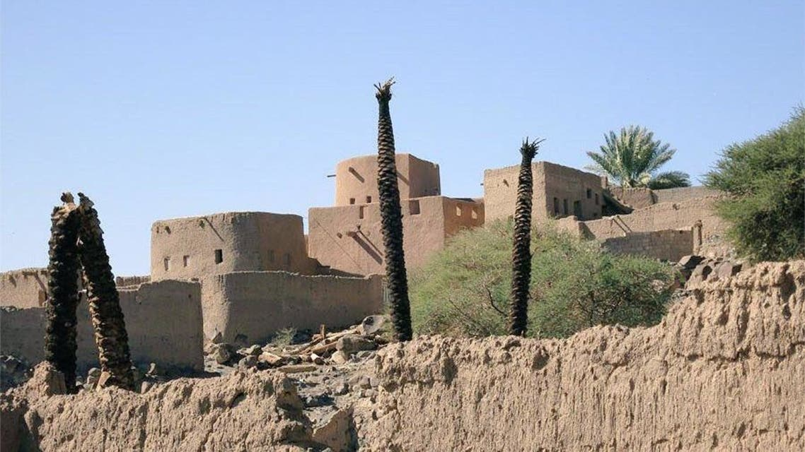 This is the oldest historical city in Saudi Arabia, and it is famous for its eyes and palm cultivation