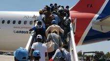 یمن سے اقوام متحدہ کے زیراہتمام پرواز کے ذریعے 160 تارکینِ وطن  بیرون ملک منتقل