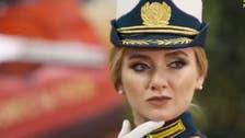 ویدیو... یک عضو نیروی موشکی روسیه ملکه زیبایی ارتش شد