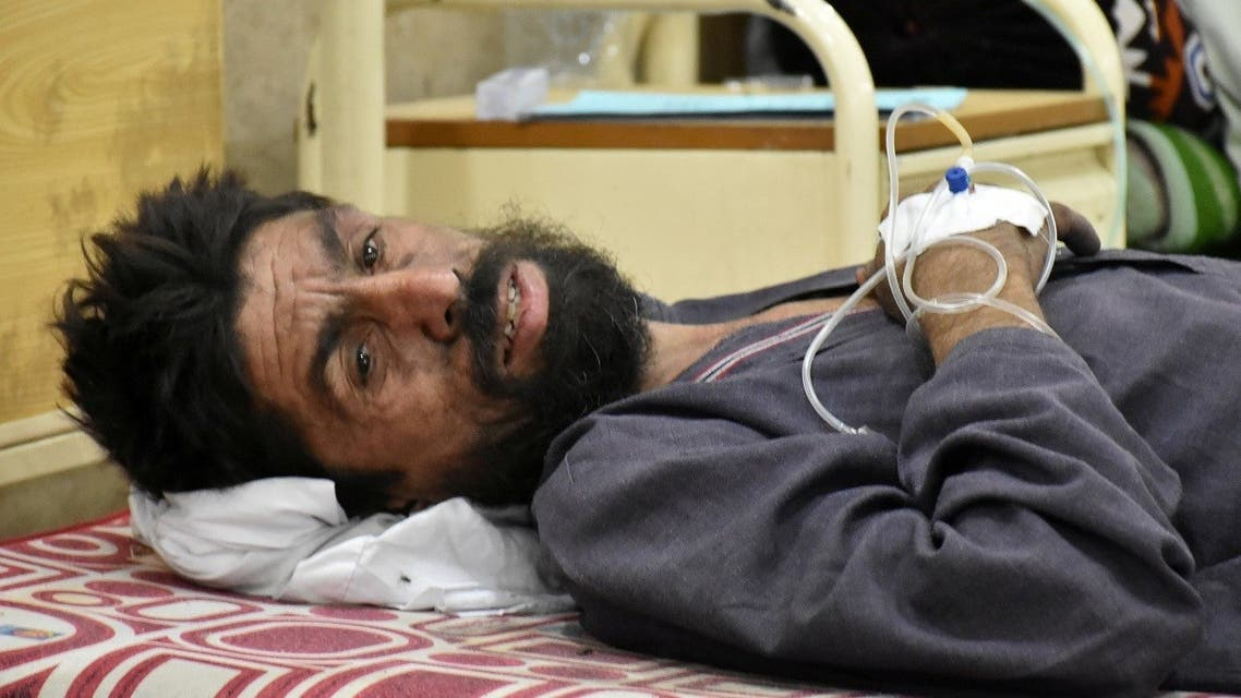 A worker, who survived after a coal mine explosion in Marwar area, receives first aid at a hospital in Quetta, Pakistan. (File photo: Reuters)