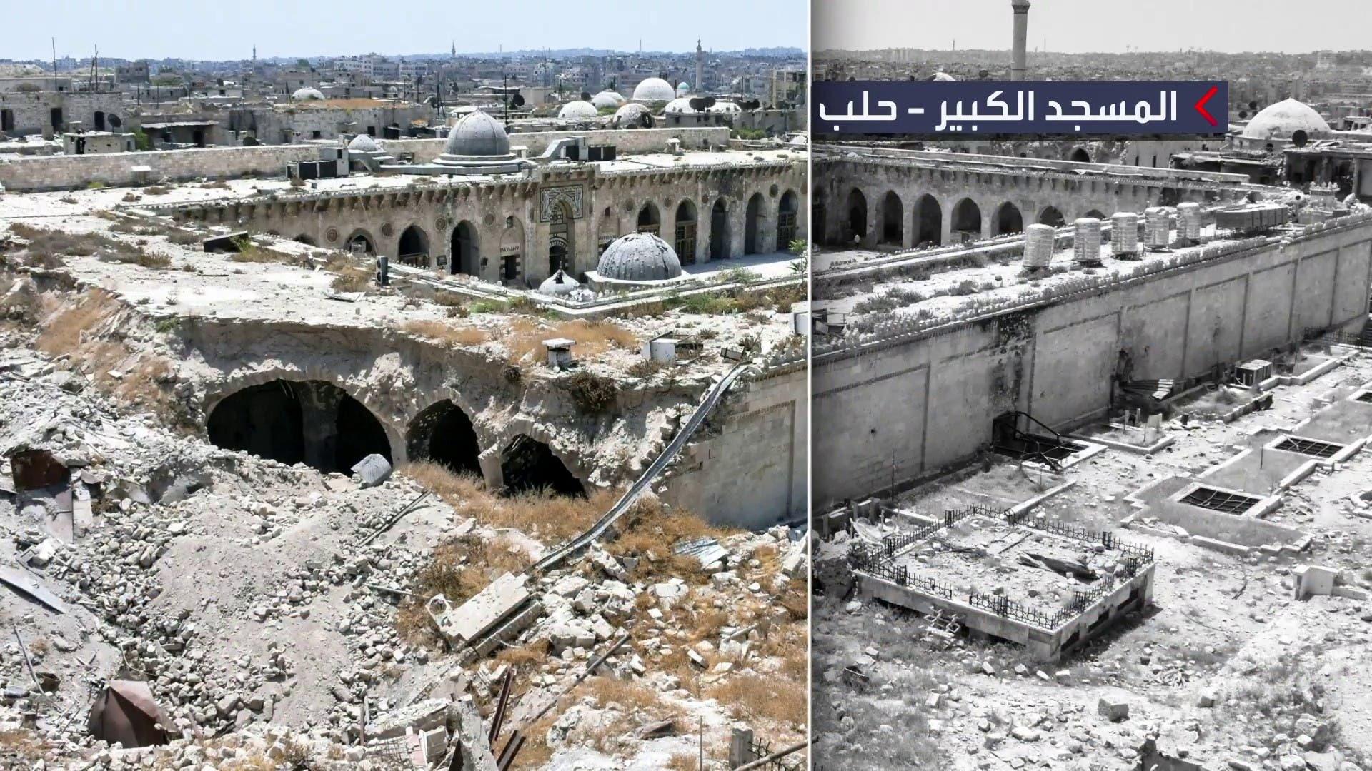 آثار ویرانی در سوریه