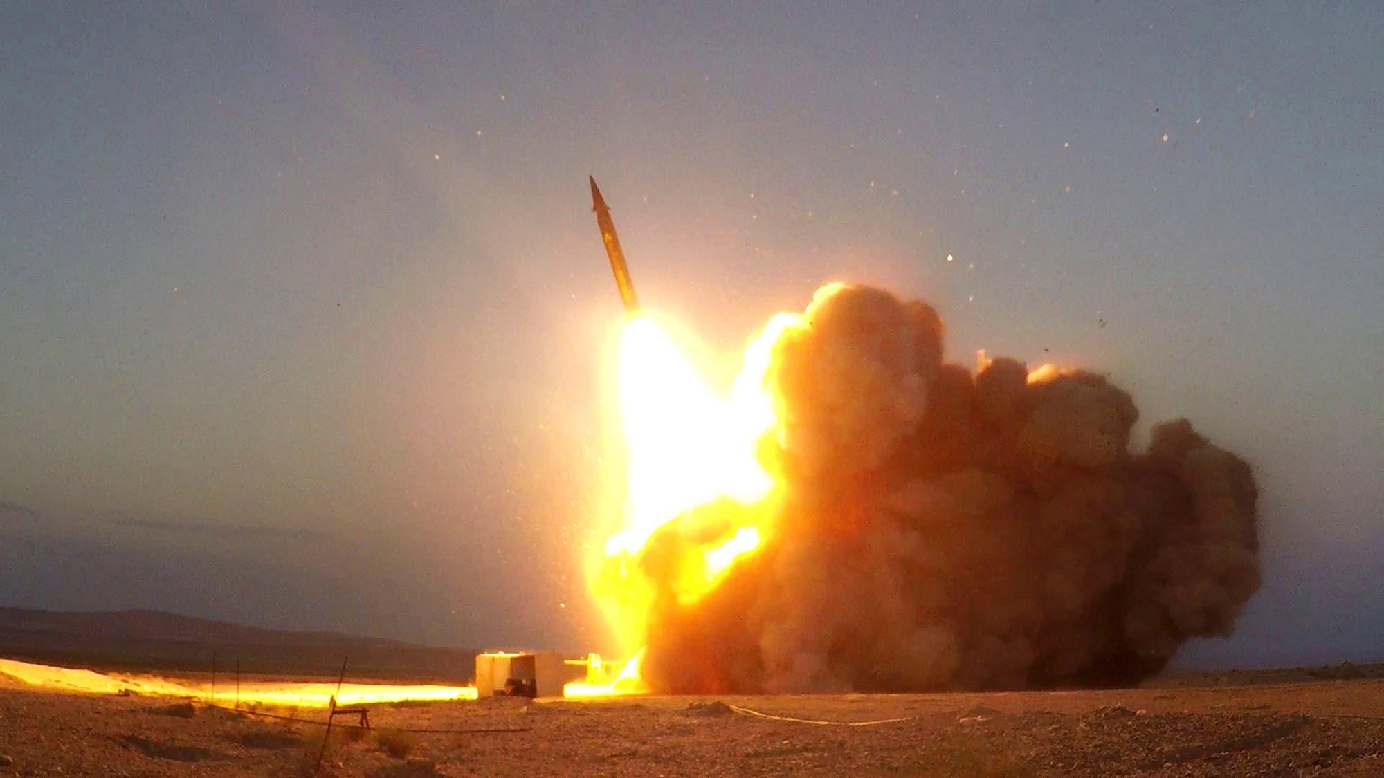 تجربة صاروخية إيرانية (أرشيفية)