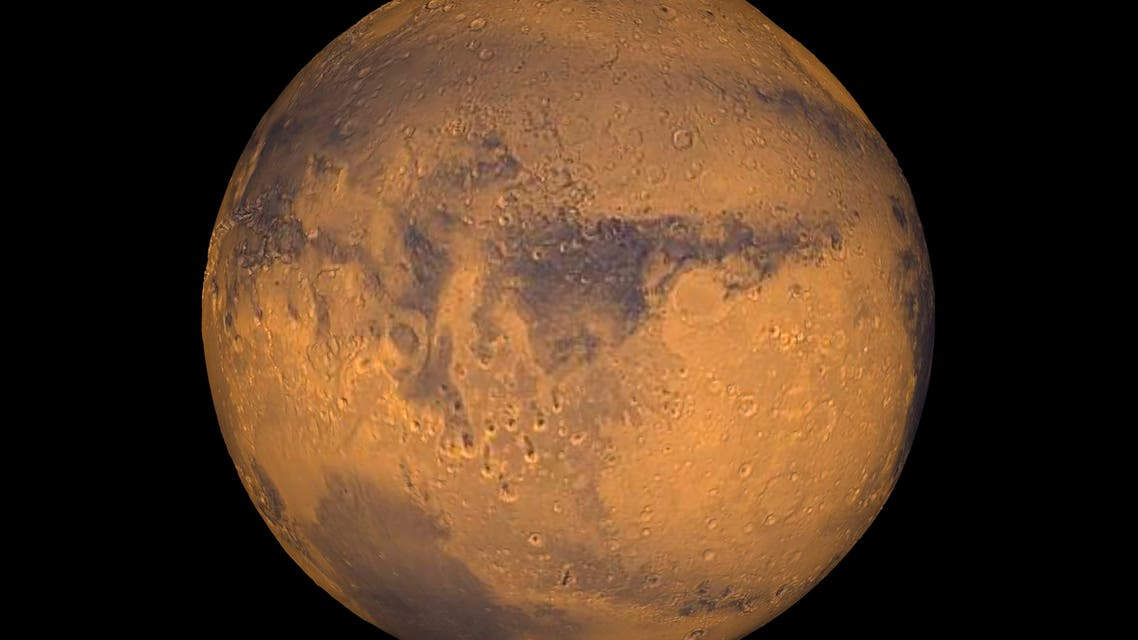 The planet Mars showing showing Terra Meridiani is seen in an undated NASA image. NASA will announce a major science finding from the agency?s ongoing exploration of Mars during a news briefing September 28 in Washington REUTERS/NASA/Greg Shirah/Handout THIS IMAGE HAS BEEN SUPPLIED BY A THIRD PARTY. IT IS DISTRIBUTED, EXACTLY AS RECEIVED BY REUTERS, AS A SERVICE TO CLIENTS. FOR EDITORIAL USE ONLY. NOT FOR SALE FOR MARKETING OR ADVERTISING CAMPAIGNS