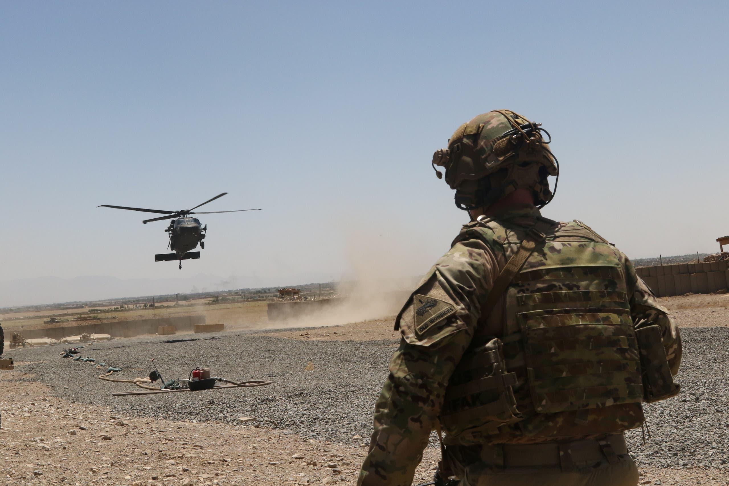 جنود أميركيون في أفغانستان (أ{شيفية- رويترز)