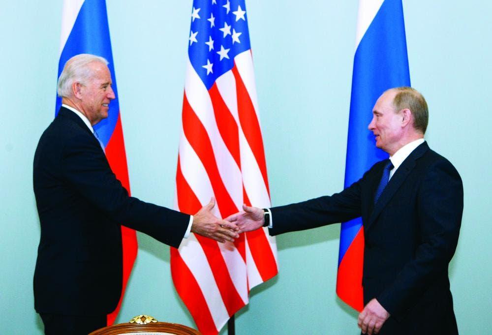 بايدن و بوتين