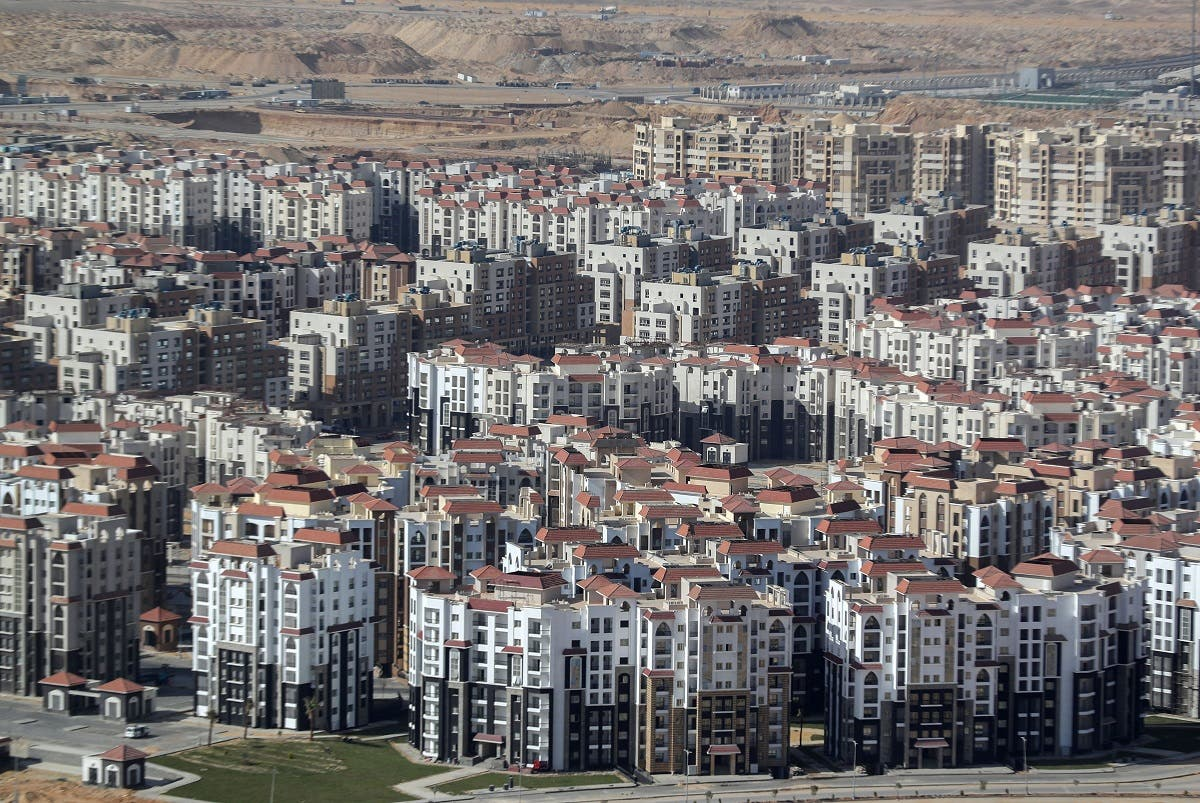 Residential buildings are seen in the New Administrative Capital (NAC) east of Cairo, Egypt March 8, 2021. Picture taken March 8, 2021. (Reuters/Mohamed Abd El-Ghany)