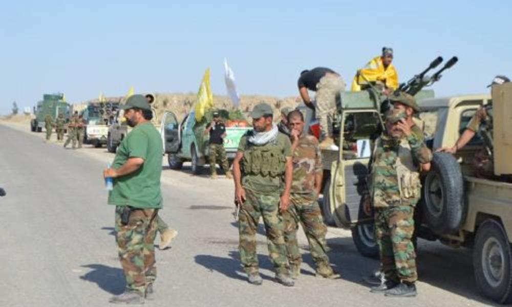 شبه نظامیان «کتائب سیدالشهداء» وابسته به تهران