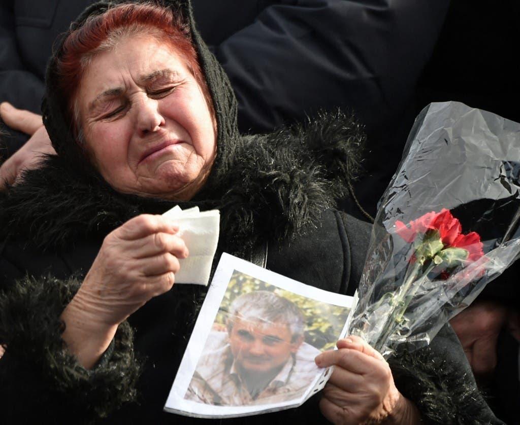 من أسر ضحايا الطائرة الأوكرانية - 17 فبراير2020