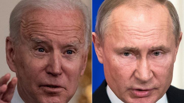 بايدن يقترح على بوتين عقد قمة
