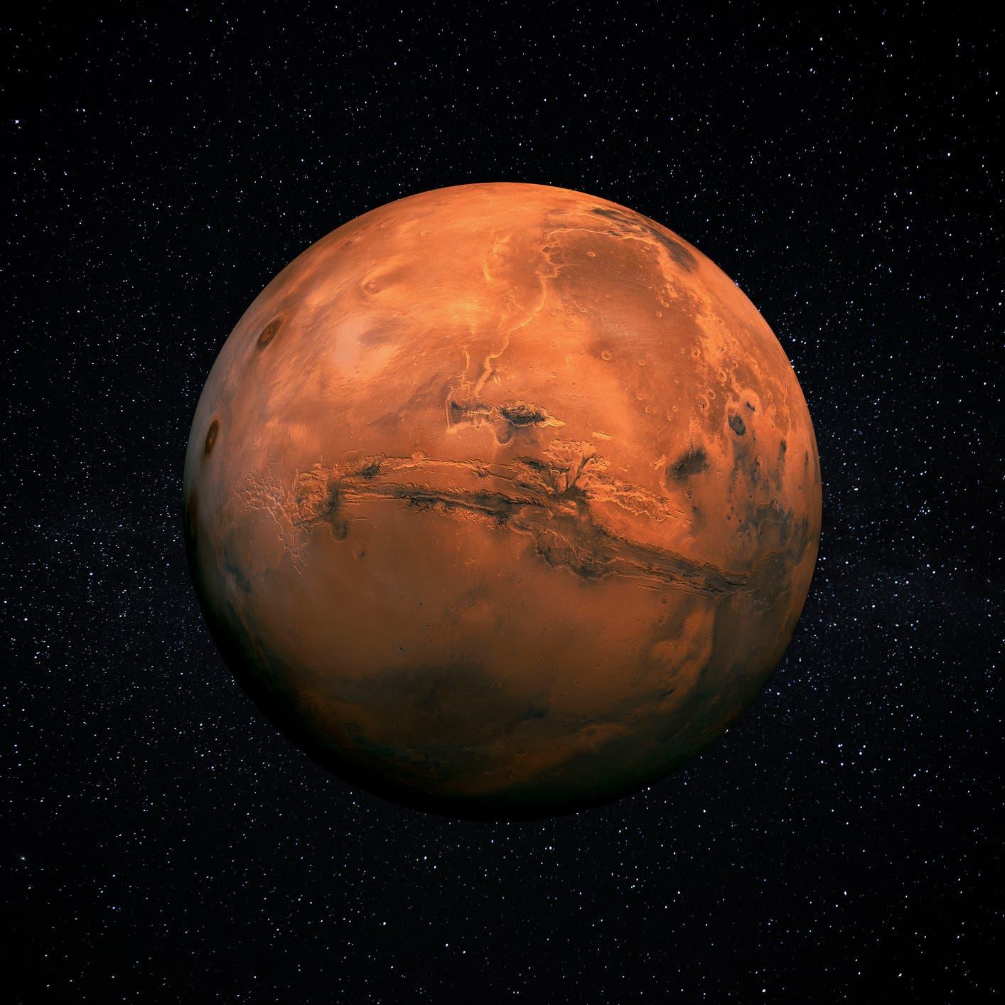 شاهد.. مسبار الأمل يلتقط أول صورة للشفق على المريخ