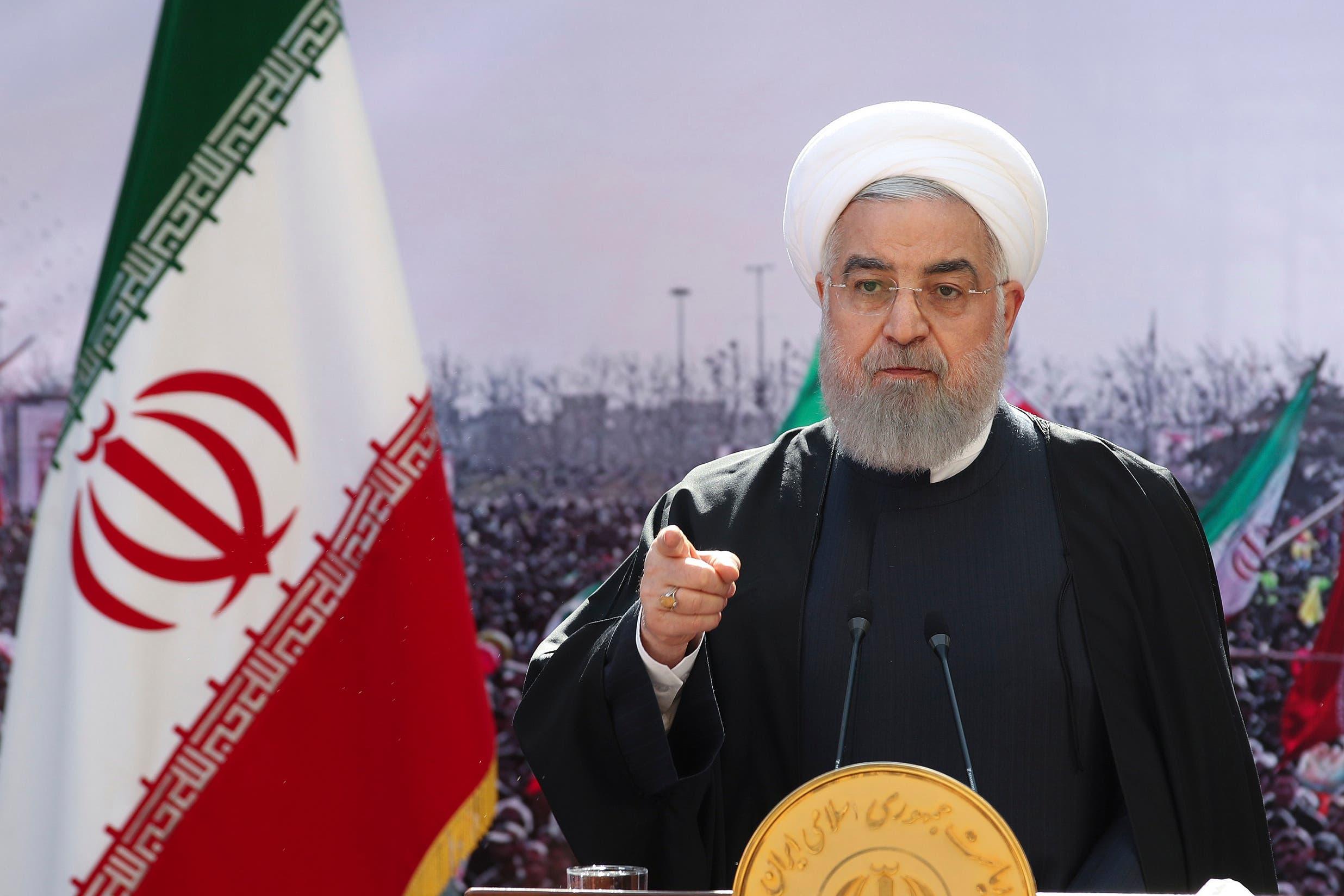 الرئيس الإيراني حسن روحاني (أرشيفية- أسوشييتد برس)