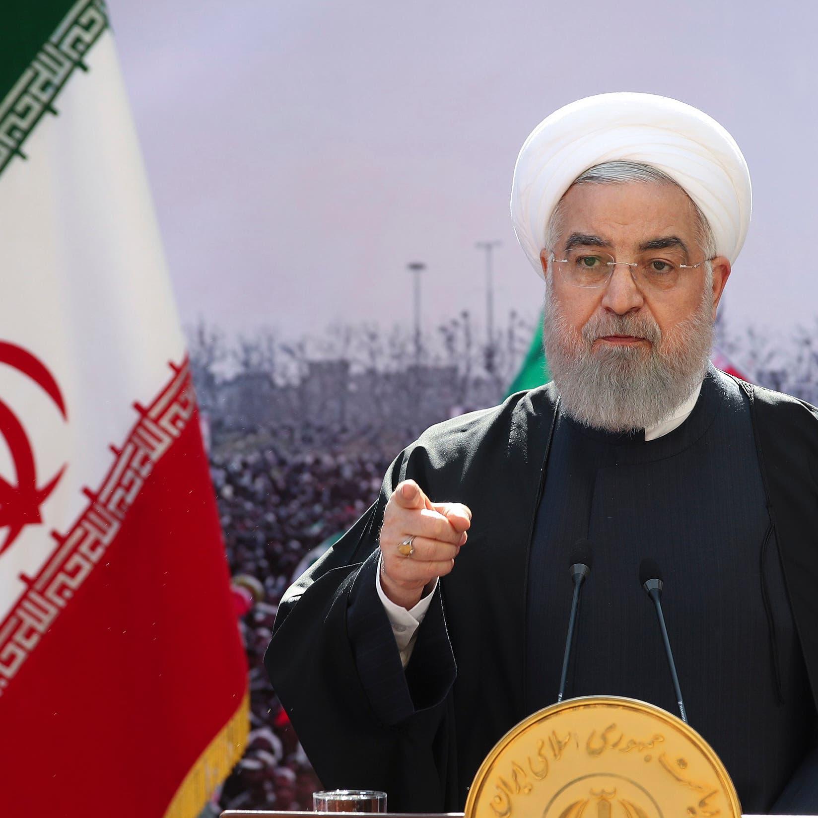 """على خطى خامنئي.. روحاني يحمل """"الأعداء"""" مسؤولية فتور الانتخابات"""