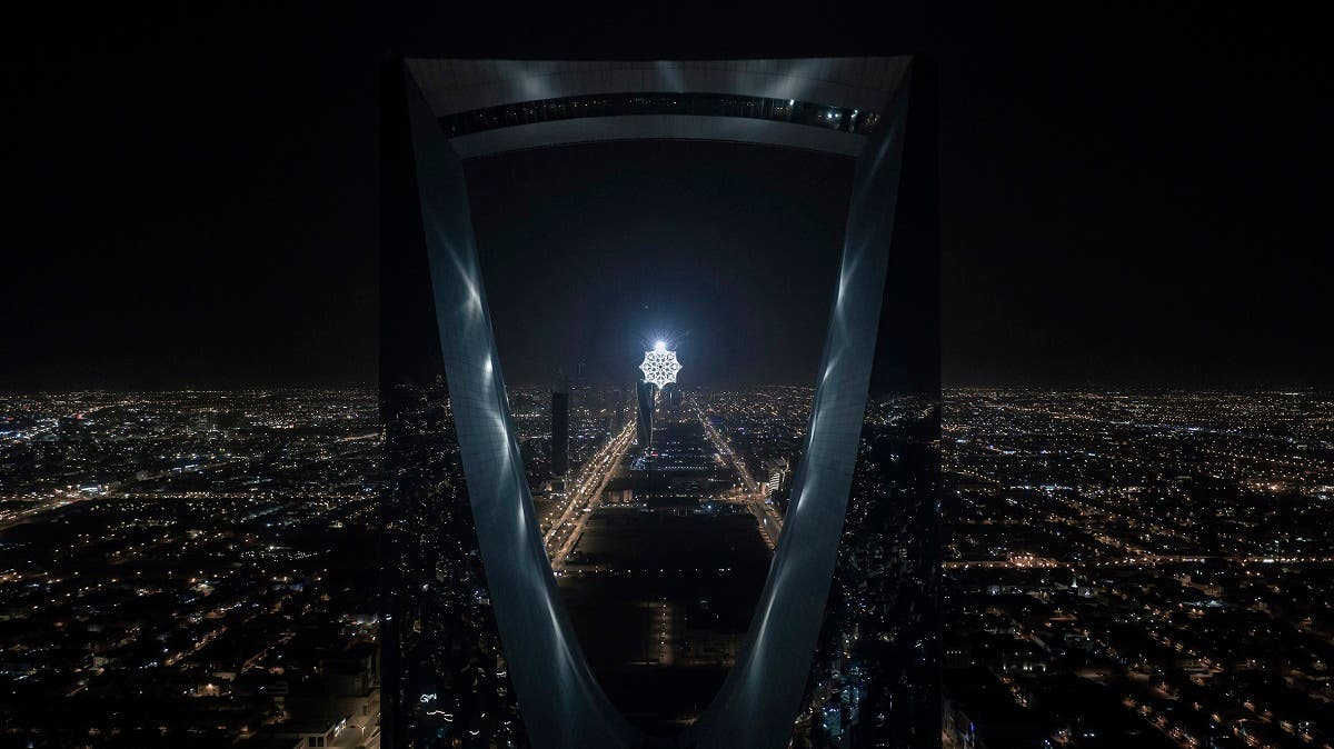 Star in Motion by Koert Vermeulen at Kingdom Tower. (Courtesy: Noor Riyadh)