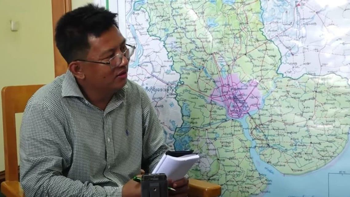 The BBC has asked the authorities to help locate Aung Thura (Photo: Twitter)