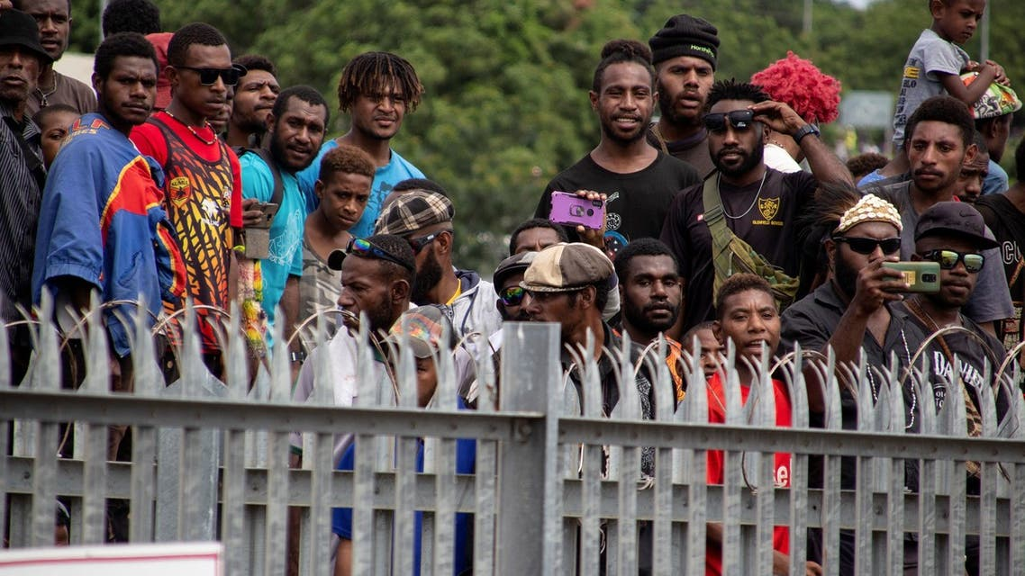 This picture taken on March 14, 2021 shows a crowd of peoplein Papua New Guinea (File photo: AFP)