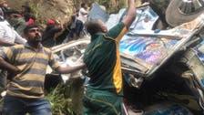 Fourteen killed in central Sri Lanka bus crash