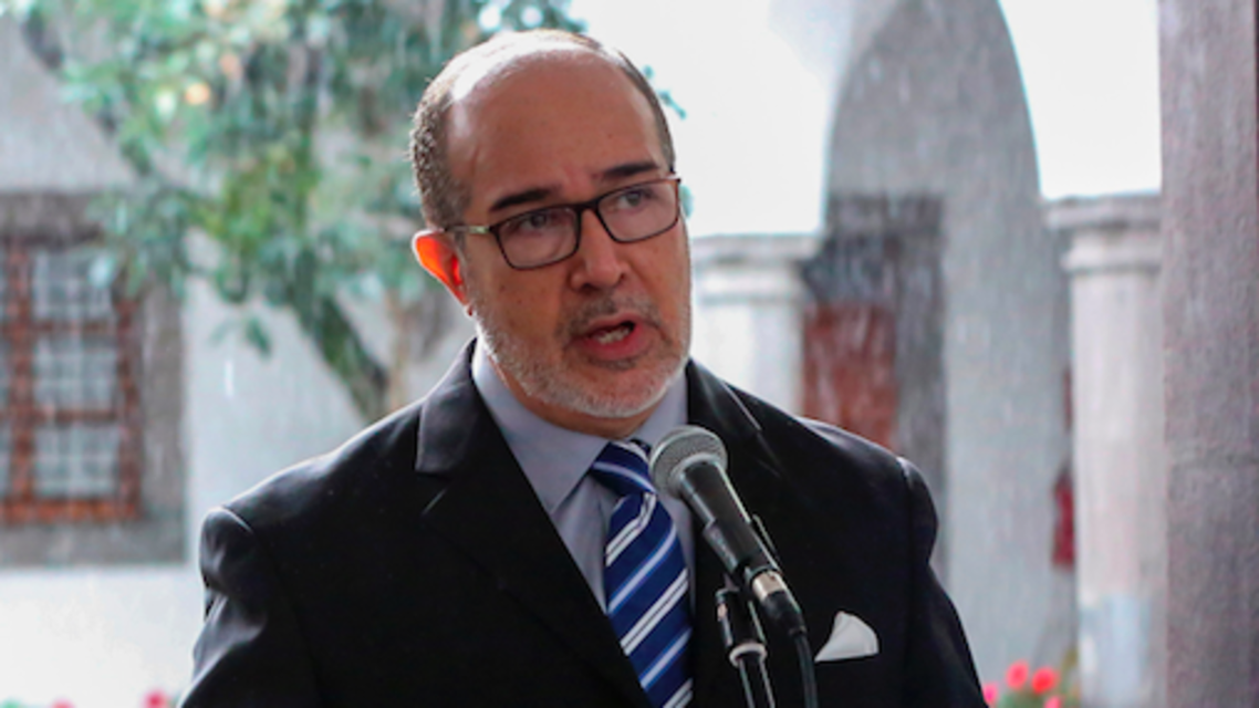 Rodolpho Farfan, Ecuador's Minister of Health. (Twitter)