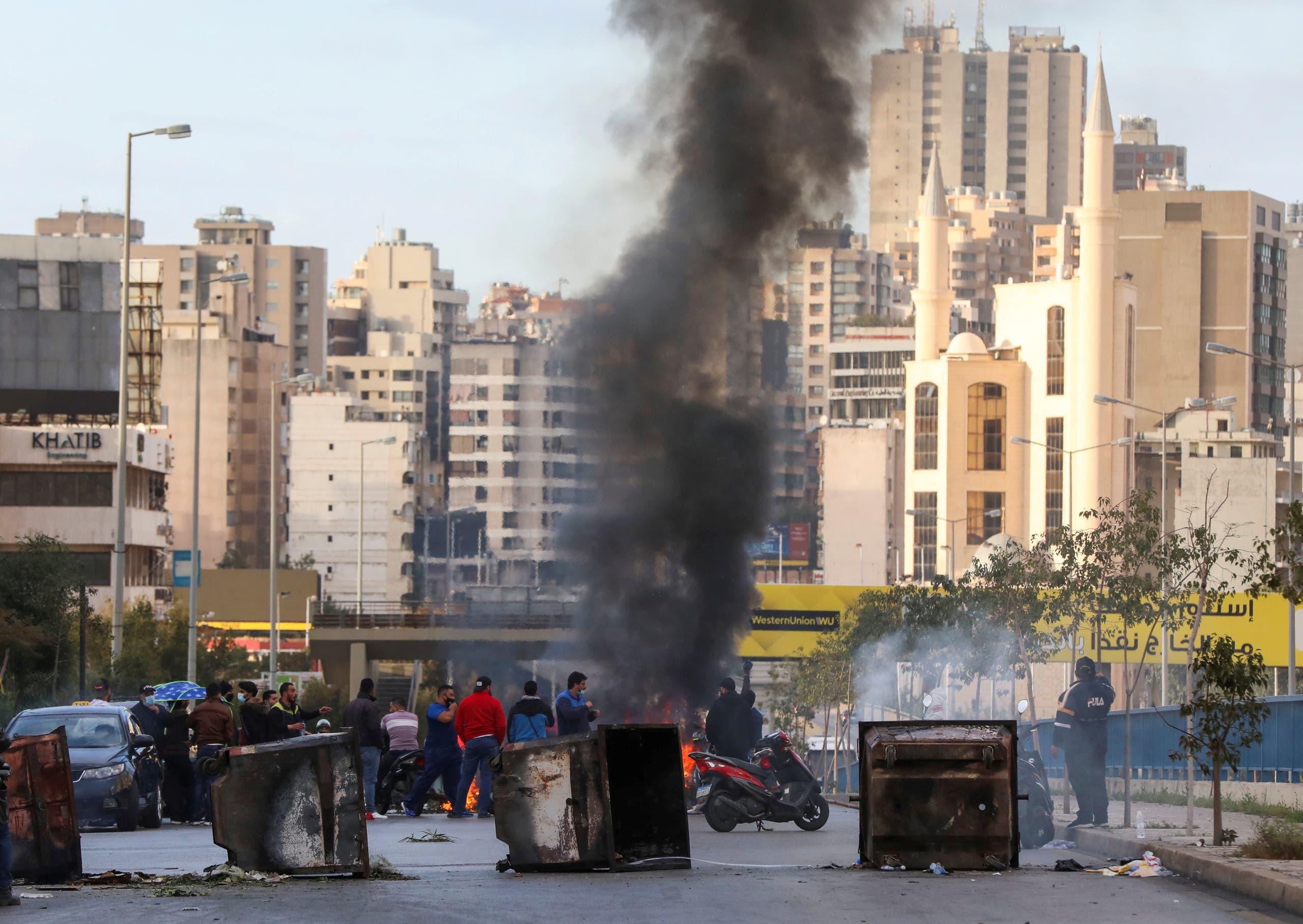 من احتجاجات لبنان (أرشيفية- رويترز )