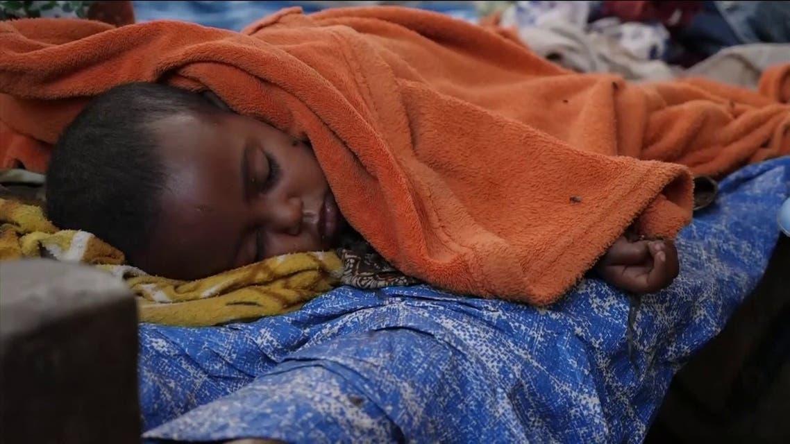 مشاهد مأساوية لأوضاع مئات الآلاف من السكان النازحين من تيغراي