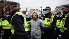 UK police arrest 33 at anti-coronavirus lockdown protests