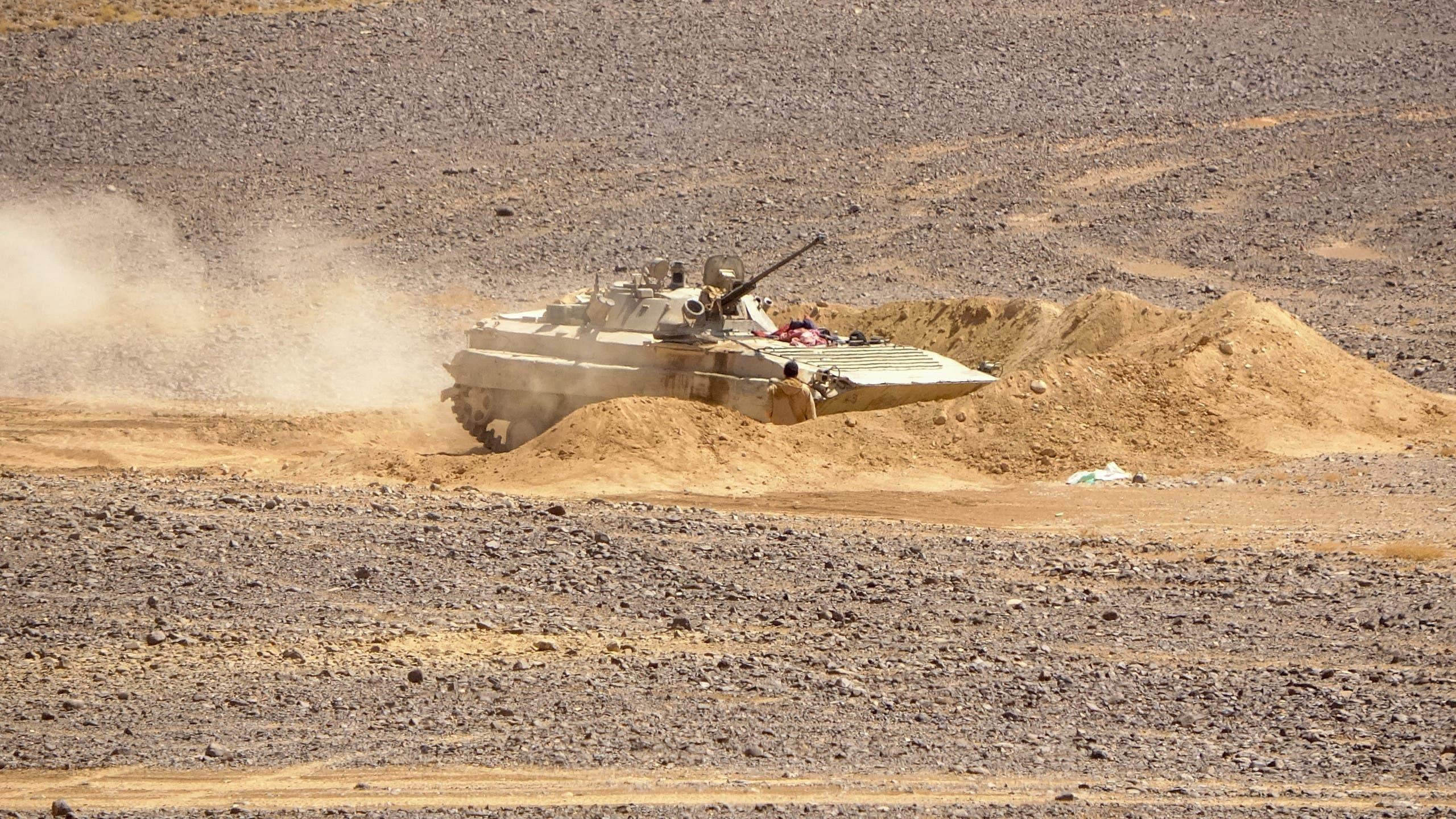 نیروهای ارتش یمن در مأرب