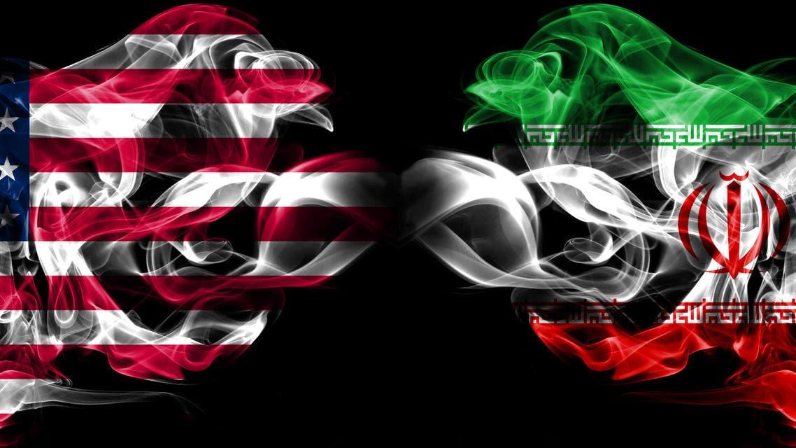 إيران أميركا  تعبيرية