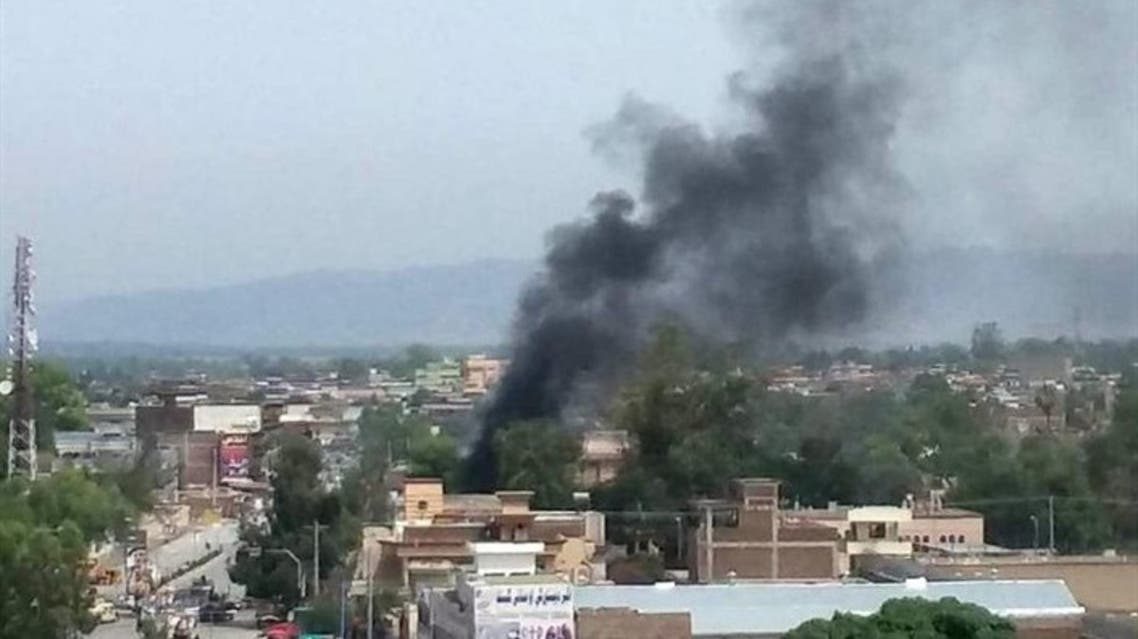 چهار انفجار پیاپی در جلالآباد افغانستان