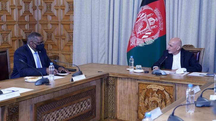 US Defense Secretary meets Afghan president amid peace process review, troops pullout