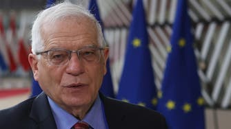 EU's foreign policy chief Borrell meets Iran's new foreign minister for first time
