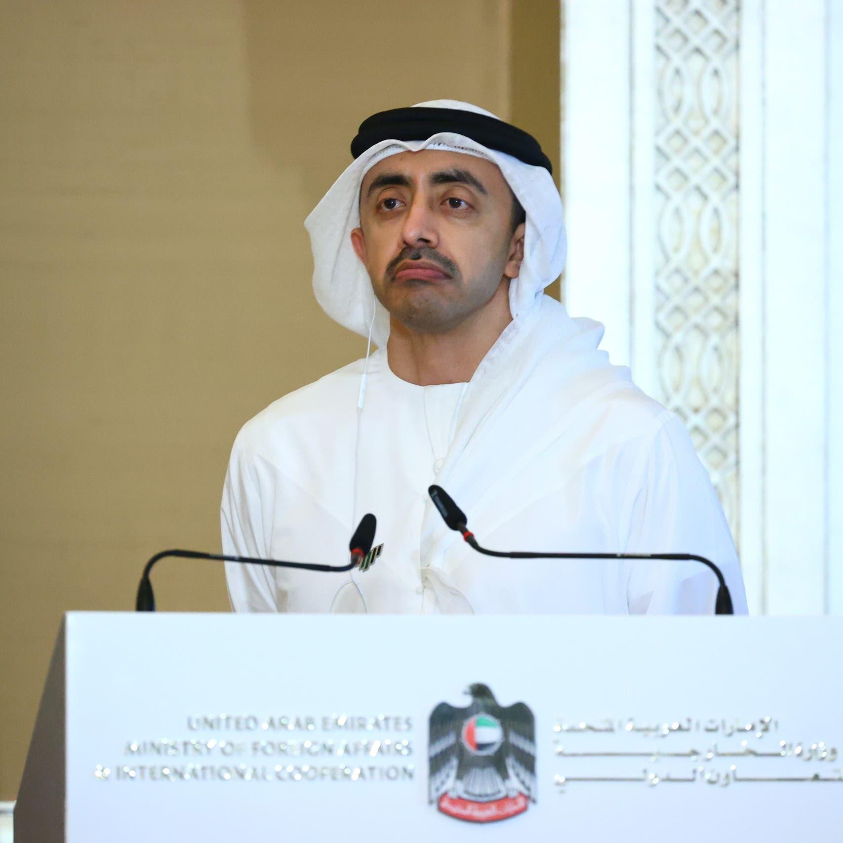 الإمارات: مبادرة السعودية فرصة ثمينة لوقف شامل للنار باليمن