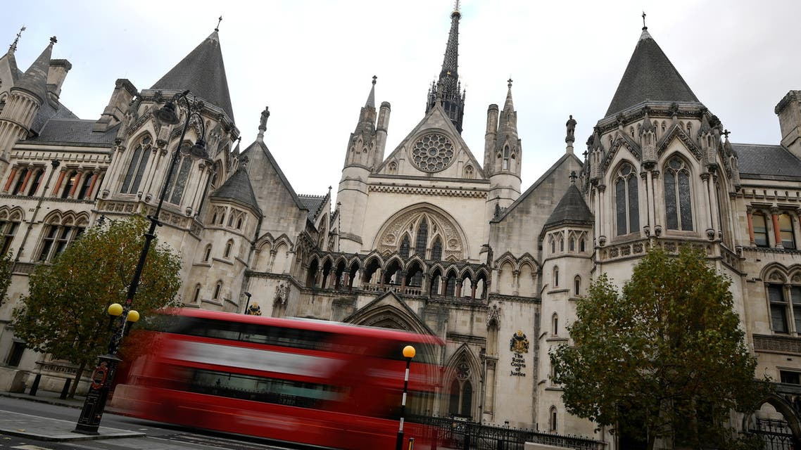 A general view of the Royal Courts of Justice, more commonly known as the High Court in London, Britain November 2, 2020. (Reuters)