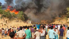 Fire at Bangladesh Rohingya refugee camp destroys thousands of homes