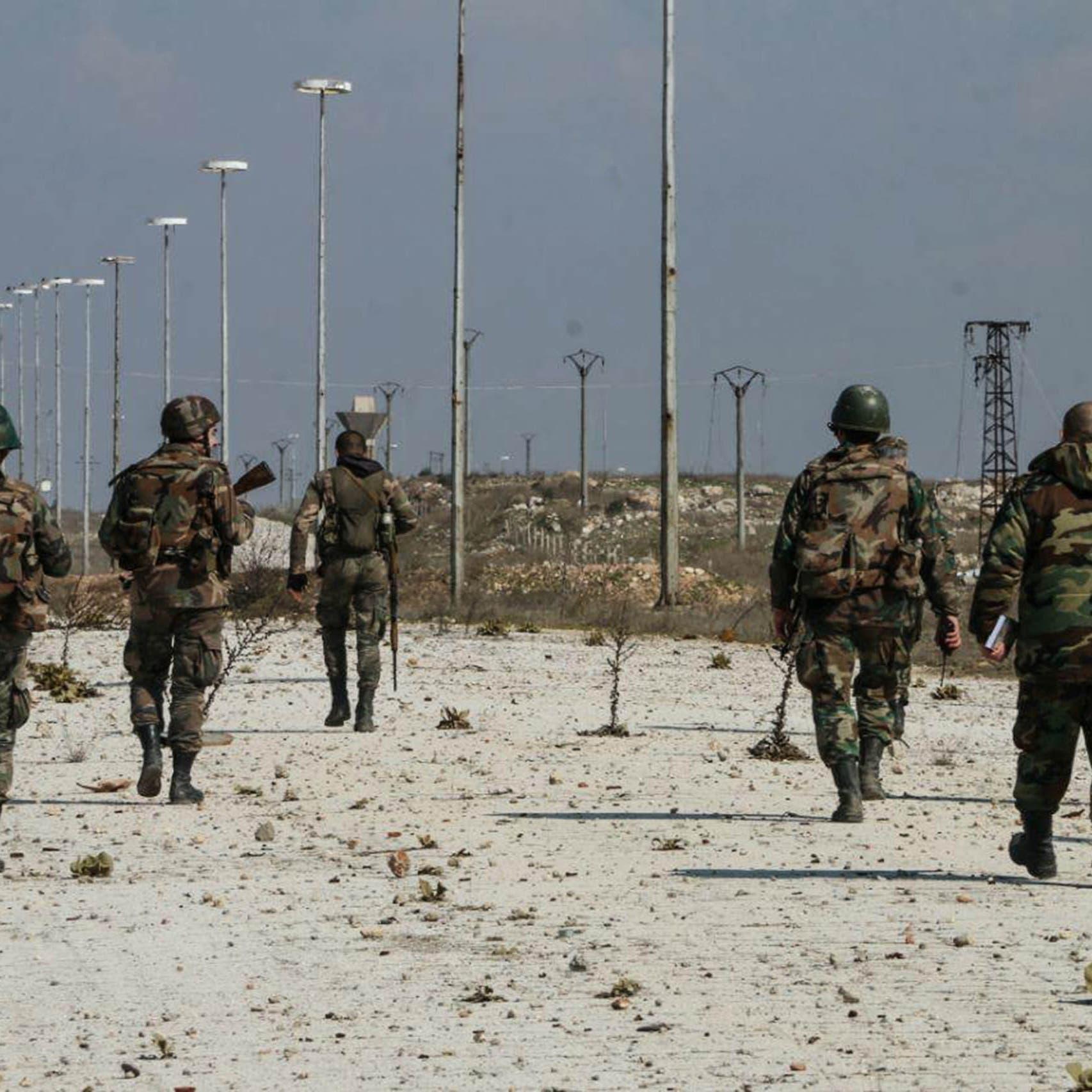 مقتل 5 من قوات النظام في استهداف للفصائل في ريفي إدلب وحلب