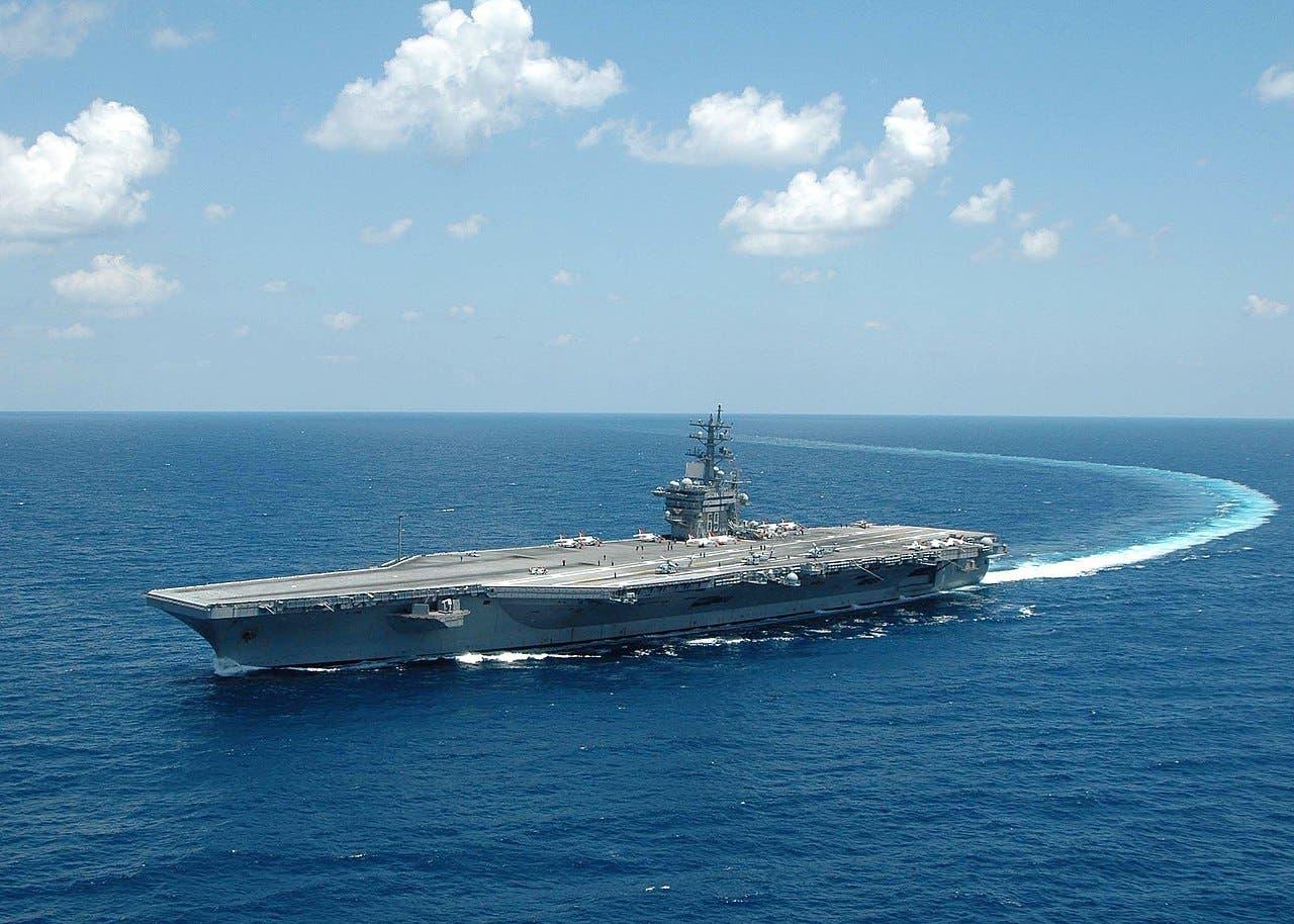Portaaviones estadounidense Eisenhower